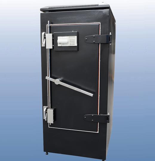 带密码锁屏蔽机柜