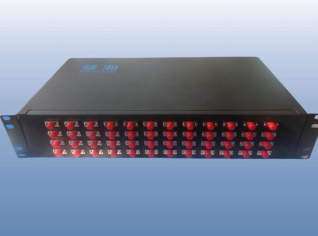 48口SC/FC/LC端口机架式光端盒